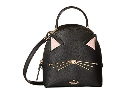 Kate Spade New York Women's Cat's Meow Cat Binx Black One Size (Kate Spade Black Cat)
