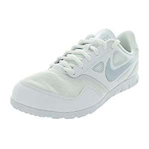 Nike Women's Cheer Compete White/White/Pure Platinum 11 B - Medium