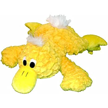 Patchwork Pet Pastel Platypus 15-Inch Squeak Toy for Dogs