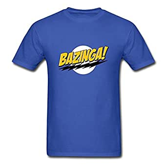 The Big Bang Theory Bazinga Irish Green Officially Licensed Adult T-shirt T-Shirt Black Small