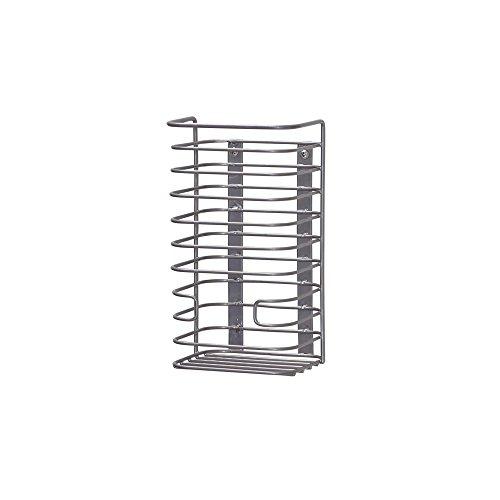 Household Essentials 1223-1 Trash Bag Holder Dispenser | Mounts to Solid Cabinet Doors or Walls