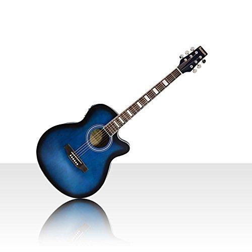 Benson full size 'Matt Satin' Electric Electro semi Acoustic guitar bundle...