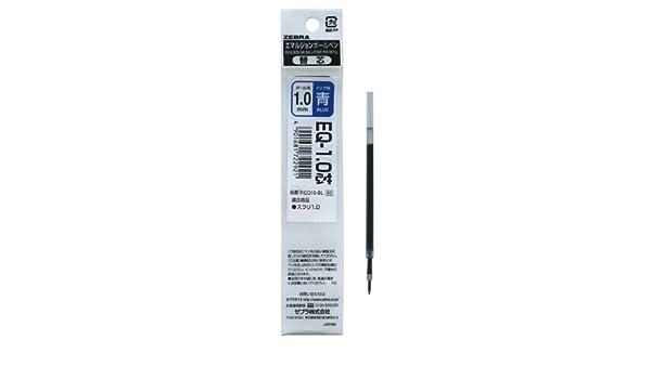 Zebra Emulsion Ballpoint Refill for Sharbo and Surari Sharbo Multi Function Pen Black Ink RESB7-BK 0.7mm Point