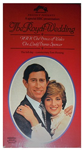 The Royal Wedding: HRH the Prince of Wales and the Lady Diana Spencer (The Full Day, PAL-Format British Edition)