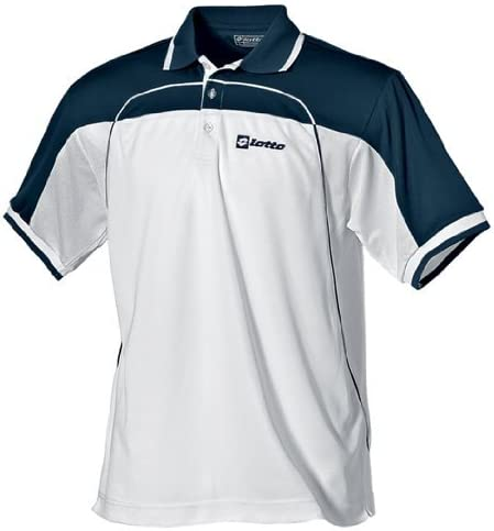 Lotto Open Mesh - Polo para mujer, color blanco y azul: Amazon.es ...