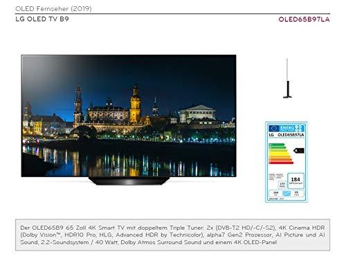 LG OLED65B97LA 164 cm (65 Zoll) Fernseher (OLED, Dual