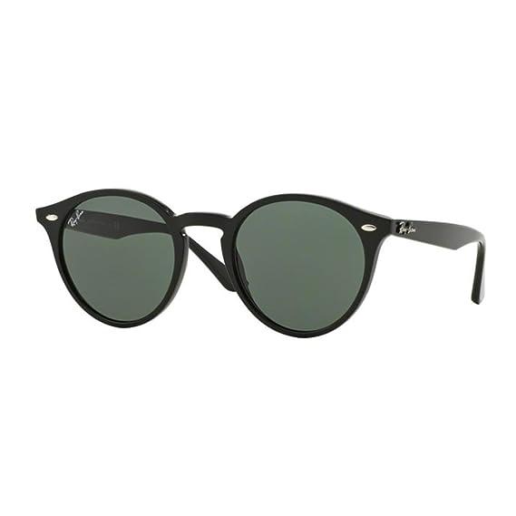 Amazon.com  Ray-Ban Men s Plastic Man Sunglass Round, Black, 51 mm  Clothing 7950523058