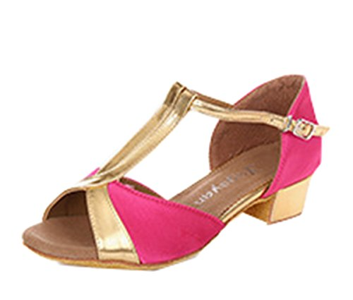 Topfly-Comfy-Sexy-Women-Open-Toe-T-Strap-Soft-Sole-Low-Heels-Chunky-Dance-Swing-Shoes-Rosy-US7AU7UK5EURO37CN39