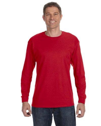 -Sleeve T-Shirt - CARDINAL RED - 2XL ()
