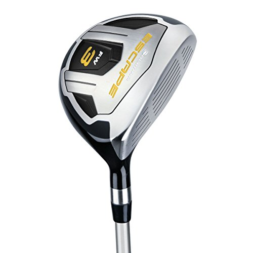 Orlimar Golf Escape Fairway Wood (RH) #3 Graphite Shaft - R Flex (Best Low Profile Fairway Woods)