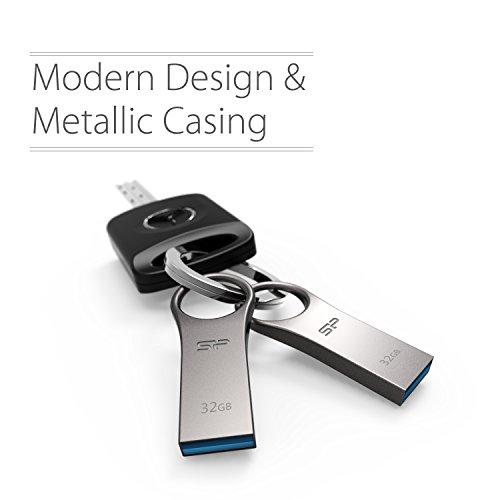 Silicon Power 10PK 32GB Firma F80 Metallic Capless Flash Drive for Windows/Mac - Titanium, Zinc alloy (SP032GBUF2F80V1SAM ) by Silicon Power (Image #5)