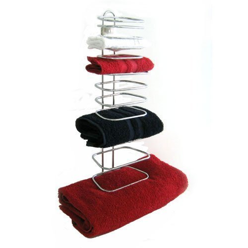 Taymor 01-1064 Hotel Chrome Four Guest Towel Holders by Taymor Industries