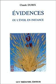 Evidences par Claude Durix