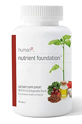 HumanN Nutrient Foundation Daily Multivitamin with Nitric Oxide Support and Probiotics (90 Tablets)