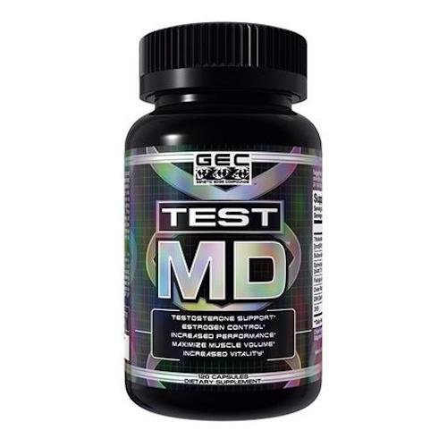 GEC TEST MD-NATURAL TESTOSTERONE OPTIMIZER/BOOSTER W/ESTROGEN CONTROL, 120 CT ()