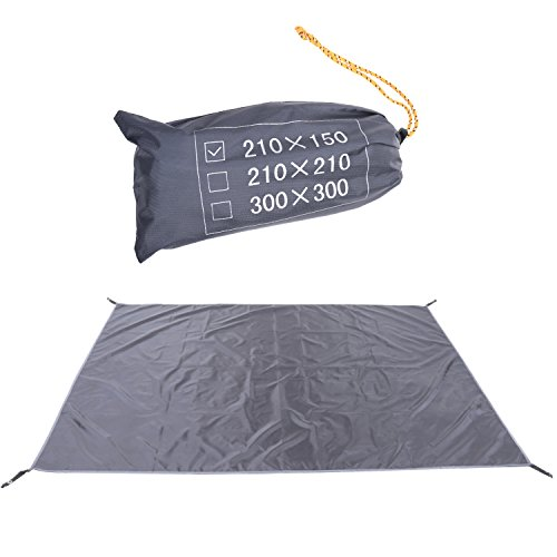 Bluecell Black Color Thick Tent Footprint Waterproof Floor Saver for C&ing Hiking Backpacking Picnic Shelter Shade Canopy Outdoor Activity by Generic  sc 1 st  Amazon.com & Tent Floor Saver: Amazon.com