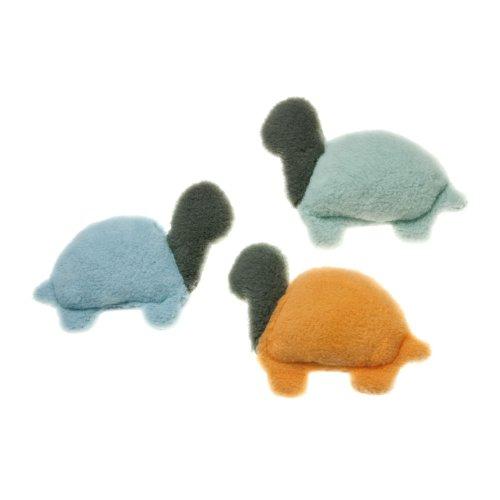 Eco-Friendly Green Turtle Plush Dog Toy, My Pet Supplies