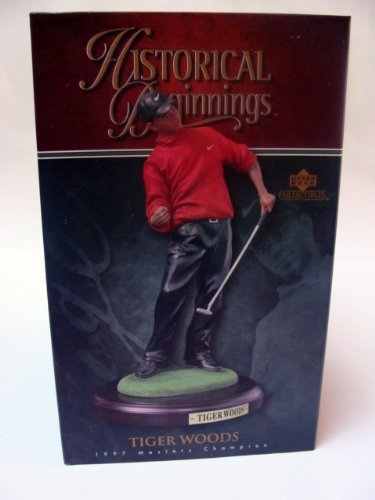 Upper Deck Historical Beginnings PGA Tiger Woods 1997 Masters Champ Statue from PGA TOUR