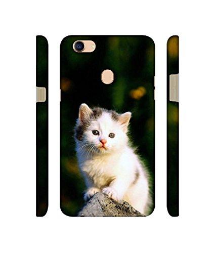 Casotec Sweet Cat Design 3D Printed Hard Back Case Cover for Oppo F5