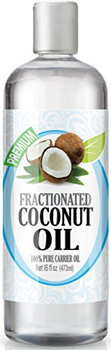 Healing Solutions Fractionated Coconut Oil - 16oz Bottle