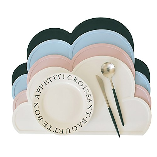 VT BigHome Nordic Style Clouds Silicone Table Mats Waterproo