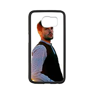Brandon Flowers Samsung Galaxy S6 Cell Phone Case White AMS0701872