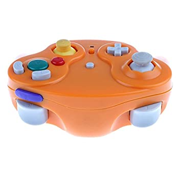 Wireless 2.4ghz Controller Gamepad For Nintendo Gamecube & Nintendo Wii (Spice Orange) 5