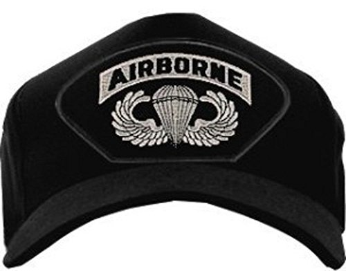 Jump Wings Hat (Airborne with Jump Wings Baseball Cap hat.)