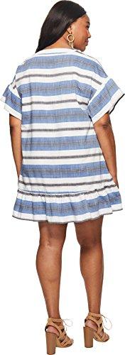 Kleid Mehrfarbig Lucky Blau 7Q90911 Damen Brand twxq8SXx