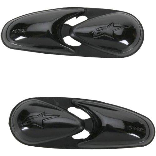 Alpinestars Smx 4 Boot (Alpinestars Flexible Toe Slider Men's Road Race Motorcycle Boot Accessories - Black / One Size)