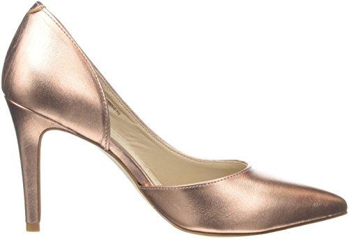 BronxBx 1245 Bcotex, Zapatos de Tacón mujer Rosa (Rosegold)