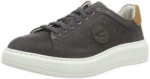 camel active Herren Platform 11 Sneaker Schwarz (black 03)