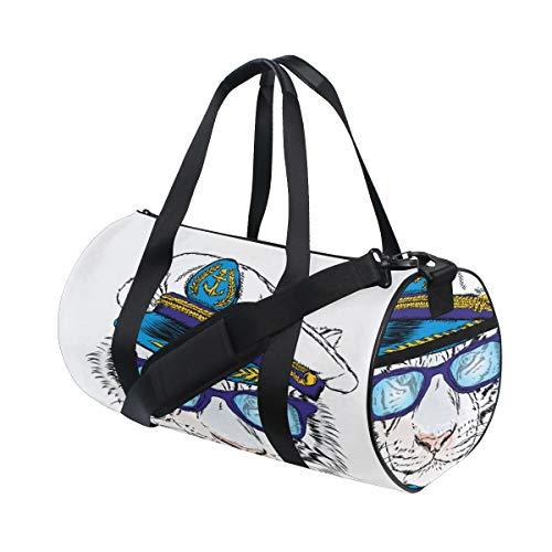 Reopx Shopping Tote Bag Fashion Animal Tiger Print Yoga Gym ...