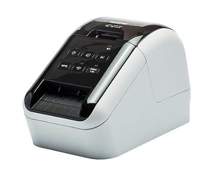 Brother QL810W - Brother QL-810W - Impresora de Etiquetas (WiFi, USB 2.0, Cortador automático, impresión a Negro y Rojo) ()