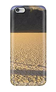 New Fashionable Alex D. Ulrich AVAZDGP33003RLToM Cover Case Specially Made For Iphone 6 Plus(desert Moving Rocks Earth Nature Desert)