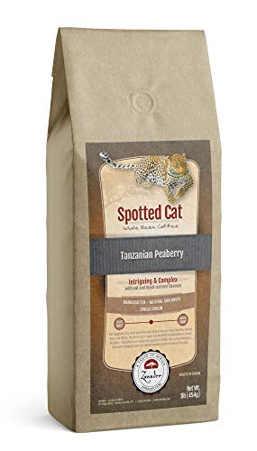 Whole Bean Coffee | Spotted Cat | Tanzanian Peaberry - 1 lb