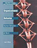 Organizational Behavior : Human Behavior at Work, Steiner, George A. and Steiner, John F., 0070465126