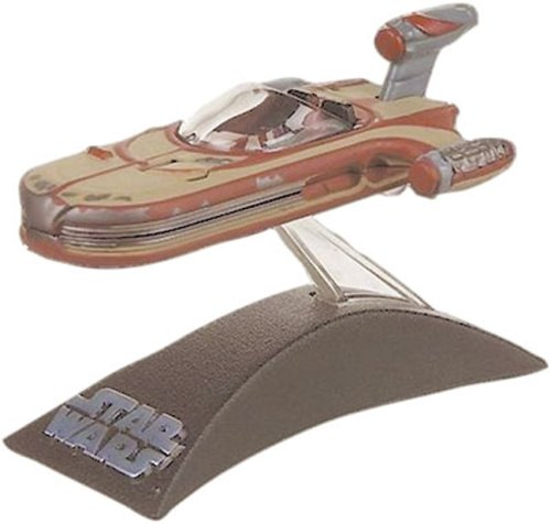 (Star Wars Titanium Series Die Cast Metal Landspeeder with Rolling Action)