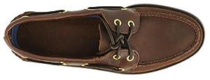 Men's Sperry Topsider, Authentic Original Boat Shoe BROWN SUEDE 10 WW