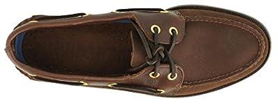 Men's Sperry Topsider, Authentic Original Boat Shoe BROWN SUEDE 8 S