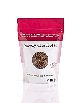 Purely Elizabeth Ancient Grain Granola, Cranberry Pecan, 12 Ounce