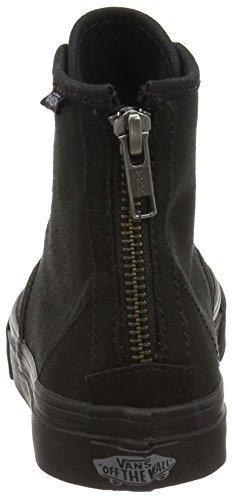 Sconce silver Camden c stripe amp;l Negro de Vans Zip Zapatillas Hi Mujer Denim deporte BqaTwP