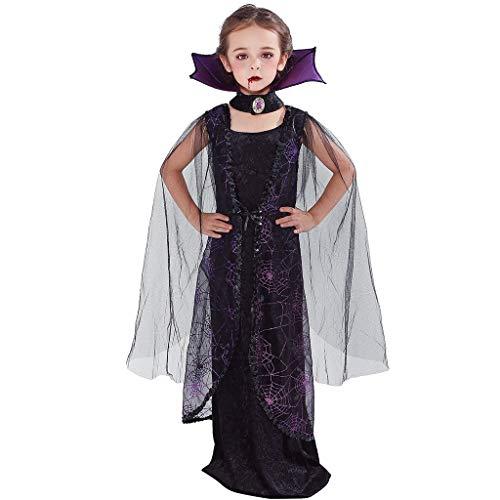 EraSpooky Girls' Vampire Costume Bat,