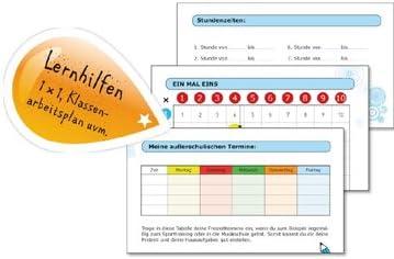 """ROTH Grundschul-Hausaufgabenheft Klipp /& Klar DIN A5 /""""Schulfreunde/"""""""