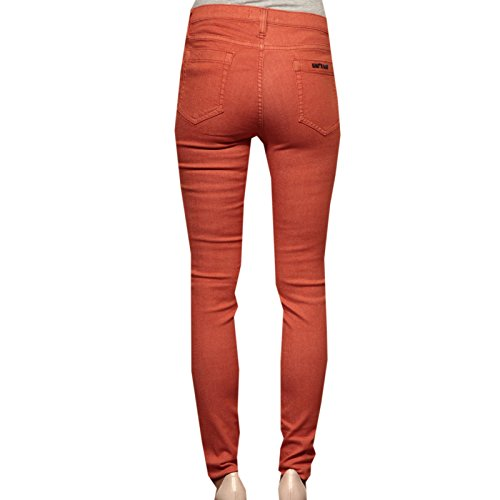 scarpa S CAPRI WHO jeans women shoes SKINNY SCULPTURE Arancio WHO 83111 donna Rfwfq0