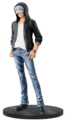 Anime One Piece Trafalgar Law Jeans Freak Vol.4 White 18cm/7″ PVC Figure No Box