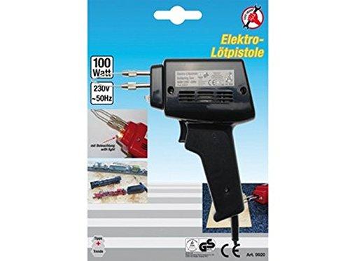 Kraftmann 9920 Pistolet à souder électrique 100W, Noir BGS technic KG