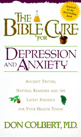 Bible Cure For Depression/Anxiety (Fitness and Health)