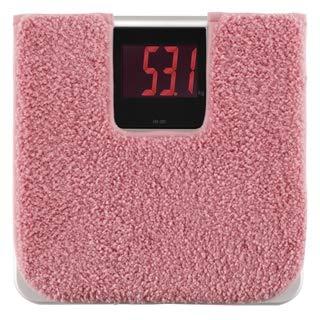 타니타 tanita 디지털 체중계 체중계 씻을수 있는 매트 포함 / 체중 측정 체중계 위생 청결 다이어트 건강 관리 (핑크)
