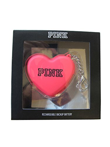 victorias-secret-pink-portable-phone-rechargeable-backup-battery-heart-keychain